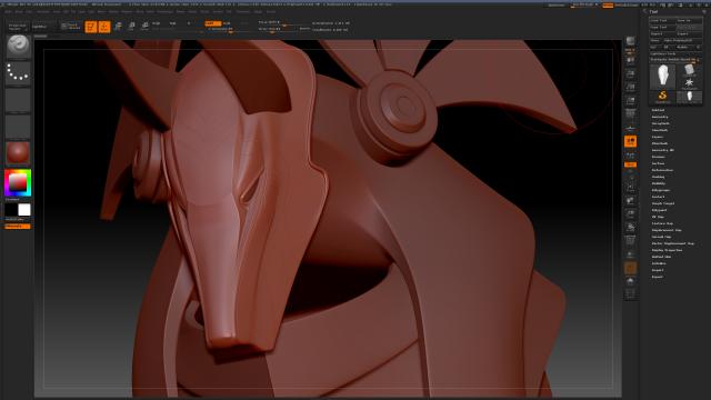 Startgate Anubis Guard Helmet 3D Art Project